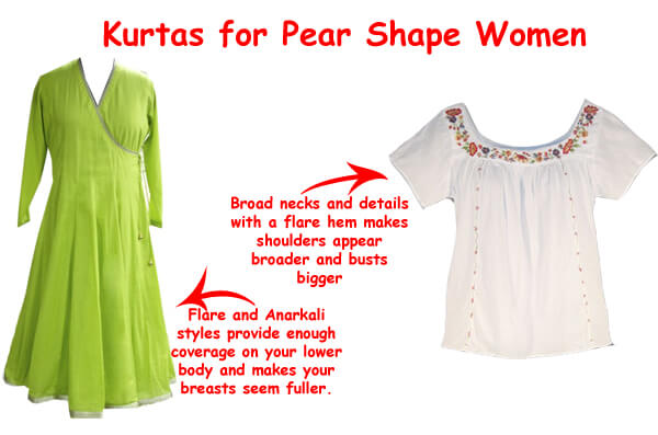 Dressing Guide for Pear Shaped Body | Dresses For Pear Shaped Body